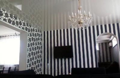 Стилизованный интерьер гостиной