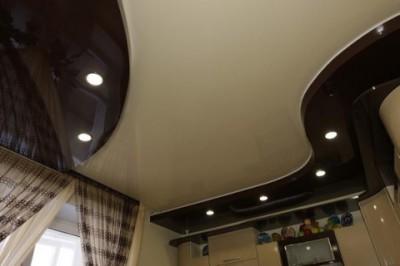 Оригинальный двухуровневый потолок от компании «Гефест»