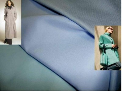 Полиэфирная ткань используется также при пошиве одежды