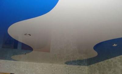 Шовные натяжные потолки