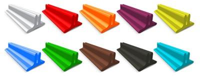 Цветовые решения декоративной ленты.