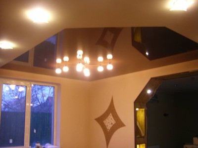 Потолок на кухне от Voxan