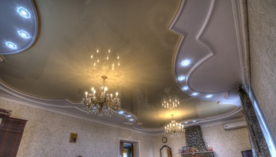 Потолок в классическом стиле от Гравис – Люкс