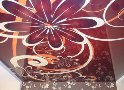 Натяжные потолки, созданные компанией Cerutti.