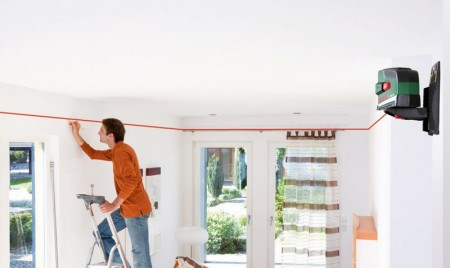 Замеры и разметка натяжного потолка