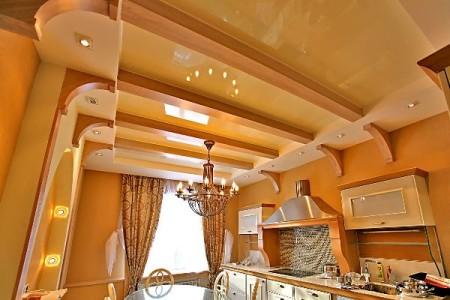 Потолок в стиле Классик