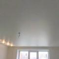 Фото помещений с сатиновыми натяжными потолками