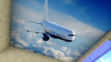 Самолет подойдет для оформления комнаты ученика старших классов