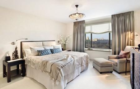 Пример освещения в спальной