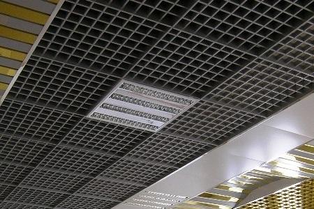 Пример оформления потолка
