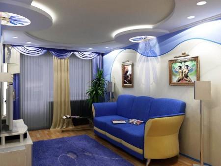 Дизайн многоуровневого натяжного потолка – эффектно, стильно и функционально