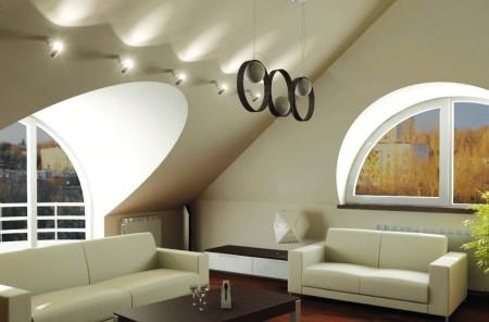 Фото оригинального потолочного покрытия из гипсокартона