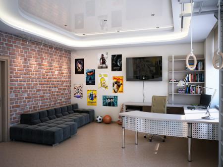 Фото потолка в комнате мальчика подростка
