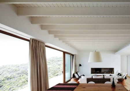 Потолок белого цвета – вариант дизайна