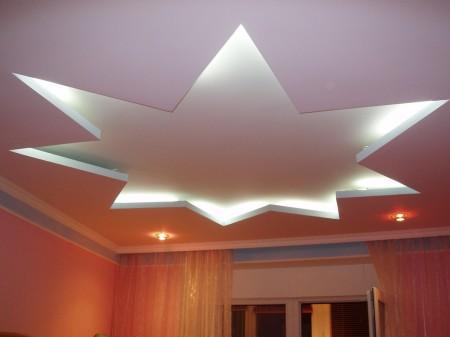 Декор в форме звезды