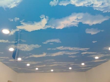 Печать со сказочными облаками