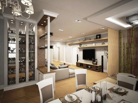 Фото уникального дизайна в комнате