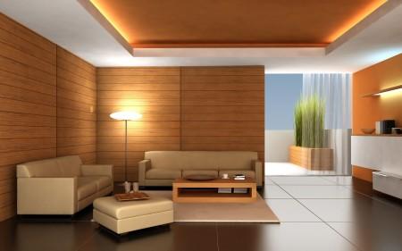 Дизайн интерьера в гостиной