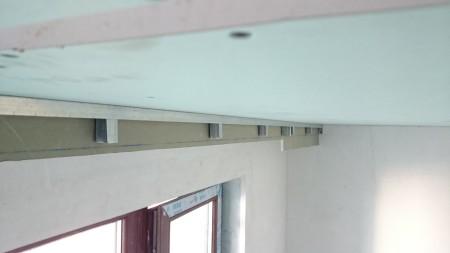 Карниз на потолке из гипсокартона