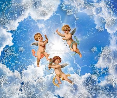 Ангелы в небе - отличное решение для всех видов помещений