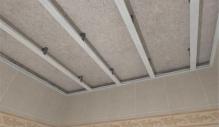 Пластиковая обрешетка для потолка
