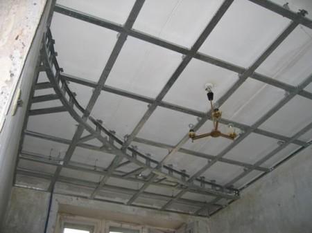 Каркас под натяжной потолок