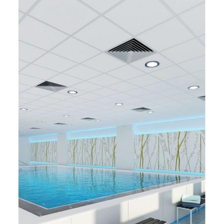 Влагостойкий потолок системы Армстронг в бассейне