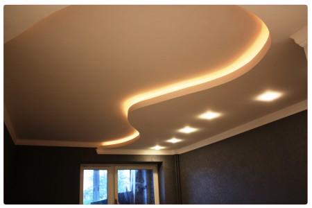 Сделать такое потолочное покрытие можно без помощи профессионалов