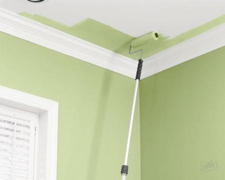 Матовая краска для потолка