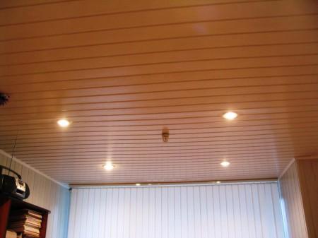 Проведение облицовки навесного потолка