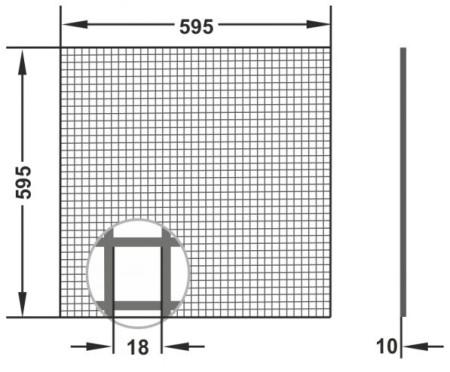 Вентиляционная решетка Сота