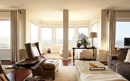 Оформление потолка белым матовым полотном – универсальное решение