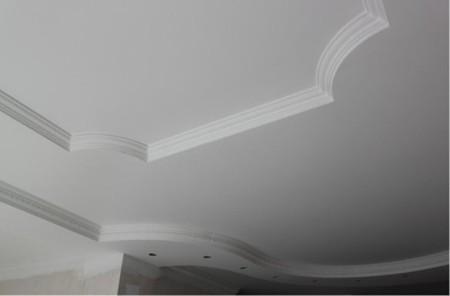 Фото готового потолка к покраске