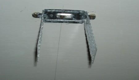 Пример установленного подвеса на фото