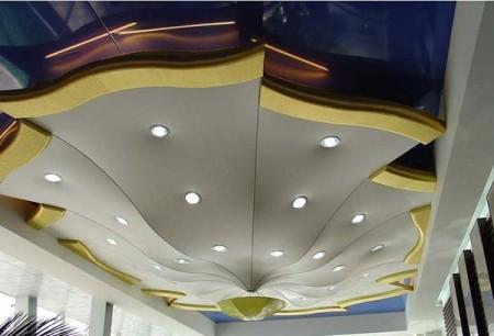 Вариант сложной конструкции, включающей элементы арочной или конусной формы