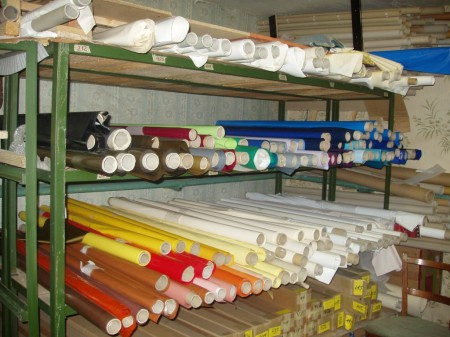 Материал для натяжных потолков в рулонах шириной до 5 метров