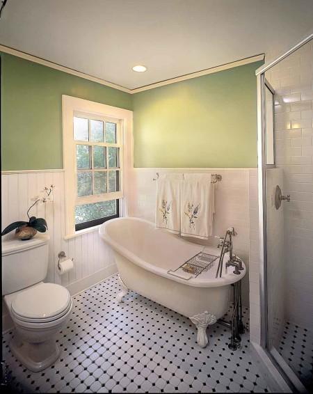 Ванная комната и гипсокартон на подвесной потолок