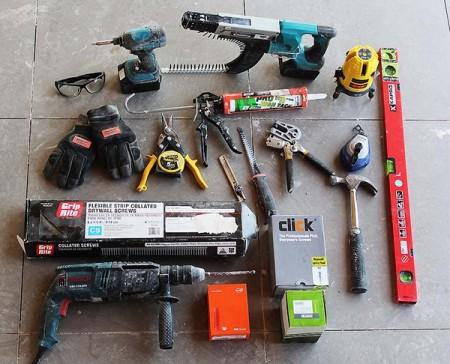 Стандартный набор инструмента
