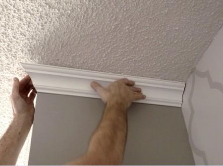 Как правильно зарезать галтели для углов вашего помещения