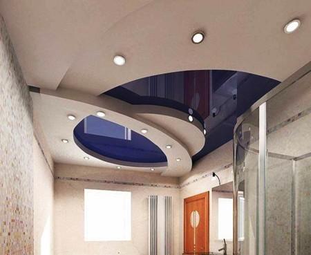 Элегантная система натяжного потолка в готовом виде – стильно и оригинально