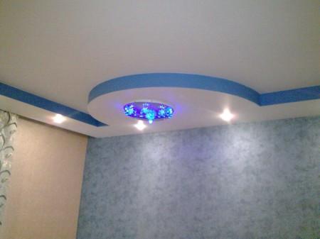Фото ухоженного потолка