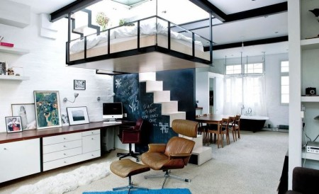 Уменьшение высоты потолка