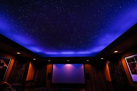 Комната с потолком «звездное небо»