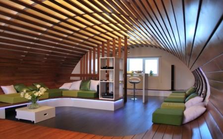 Оригинальное решение для оформления потолочного покрытия