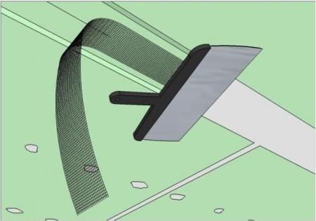 Схема шпаклевки стыков с использованием ленты-серпянки