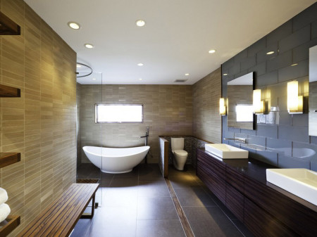 Светодиодные источники в ванной