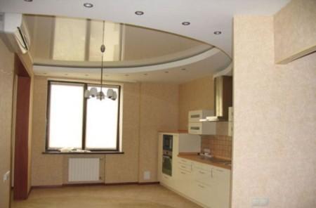 Точечные светильники в подвесной конструкции