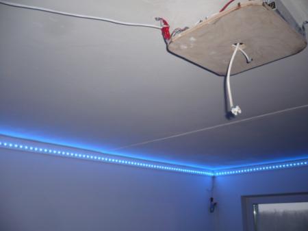 Светильники в запотолочном пространстве