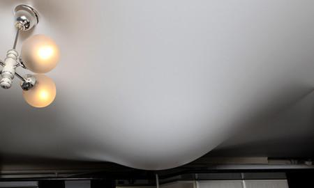 Потолок при затоплении