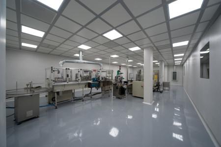 Потолок в производственном помещении